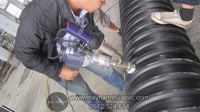 May han dung weldy booster x2 - thi công hàn ống nhựa
